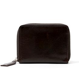 ボーデッサン(BEAU DESSIN) レザー ウォレット 二つ折り財布 ブラック