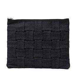 CARRYNEST(キャリーネスト) クラッチバッグ TABLET NEST ブラック/ネイビー