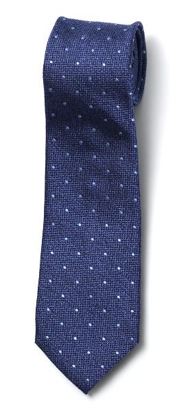 フランコ スパダ(Franco Spada) ネクタイ ドット柄 ブルー