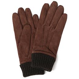 KURODA(クロダ) ヤギ革 メンズ 手袋 ブラウン