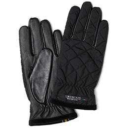 KURODA(クロダ) リモンタ 羊革 メンズ 手袋 ブラック/イエロー
