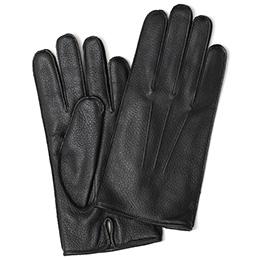 KURODA(クロダ) 鹿革 メンズ 手袋 ブラック