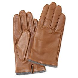 KURODA(クロダ) 羊革 メンズ 手袋 LUGGAGE(キャメルブラウン)