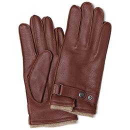 KURODA(クロダ) 鹿革 メンズ 手袋 ブラウン