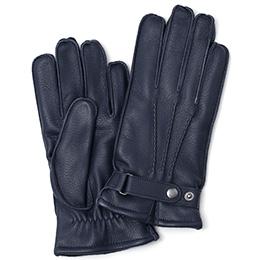 KURODA(クロダ) ディアスキン(鹿革) 手袋 ネイビー