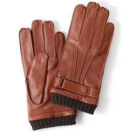 KURODA(クロダ) 羊革 メンズ 手袋 キャメル