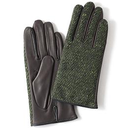 KURODA(クロダ) 羊革 レディース 手袋 グリーン