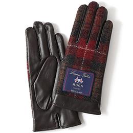 KURODA(クロダ) 羊革 レディース 手袋 レッド