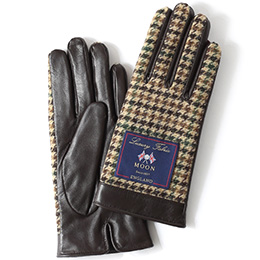 KURODA(クロダ) 羊革 レディース 手袋 ベージュ