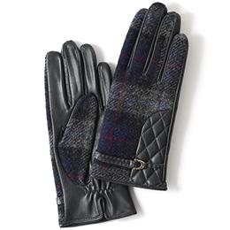 KURODA(クロダ) 羊革 レディース 手袋 チャコール