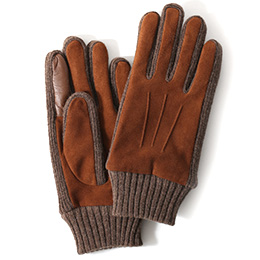 KURODA(クロダ) ヤギ革 メンズ 手袋 キャメル