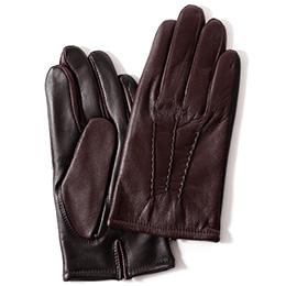 KURODA(クロダ) 羊革 メンズ 手袋 ブラウン