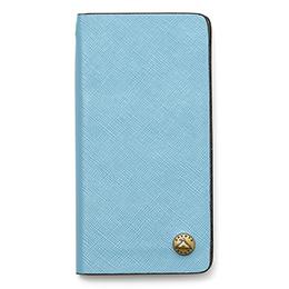 GNUOYP(ニュピ) iPhone7 case (6対応) スマホケース ライトブルー