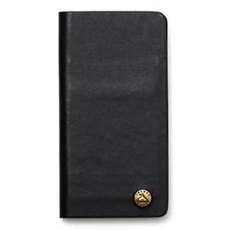 GNUOYP(ニュピ) iPhone7 case (6対応) スマホケース ブラック/レザー