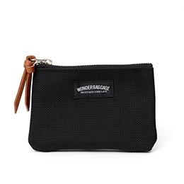 ワンダーバゲージ(WONDER BAGGAGE) グッドマンズシリーズ コインケース 小銭入れ ブラック