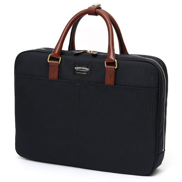 cb2b08a6da4e 日本のバッグ専門ブランドが手掛けた、バリスティックナイロン×本革ビジネスバッグ!